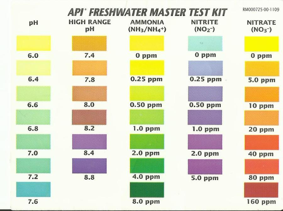 api ph test instructions
