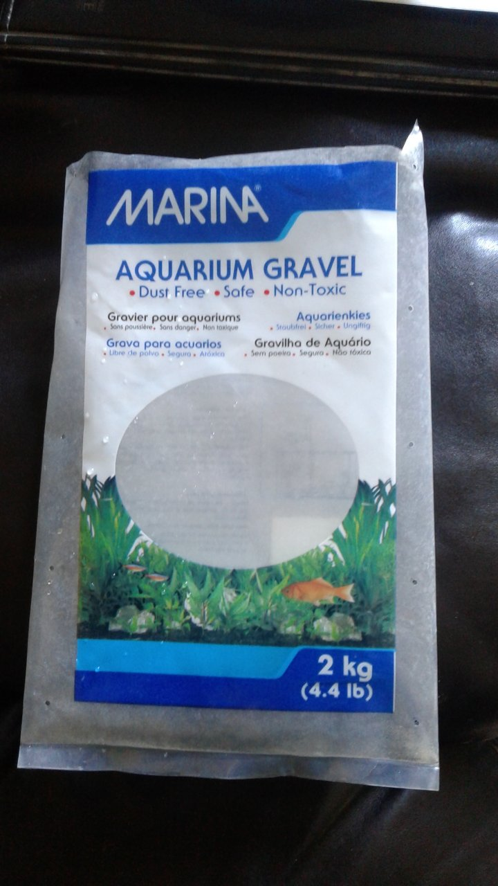 Quick gravel question i bought a bag of aquarium gravel for Walmart fish gravel