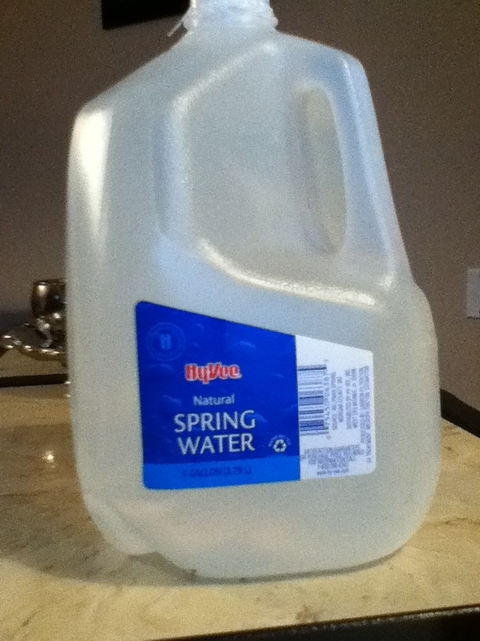 Is it ok to use natural spring water bought from the store for How to make tap water safe for fish without conditioner