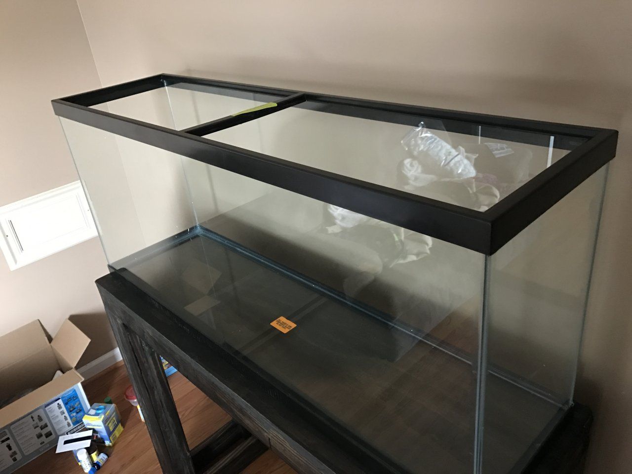 Best aquarium hood ideas i have a 55 gallon tank with two for 55 gallon fish tank led light hood