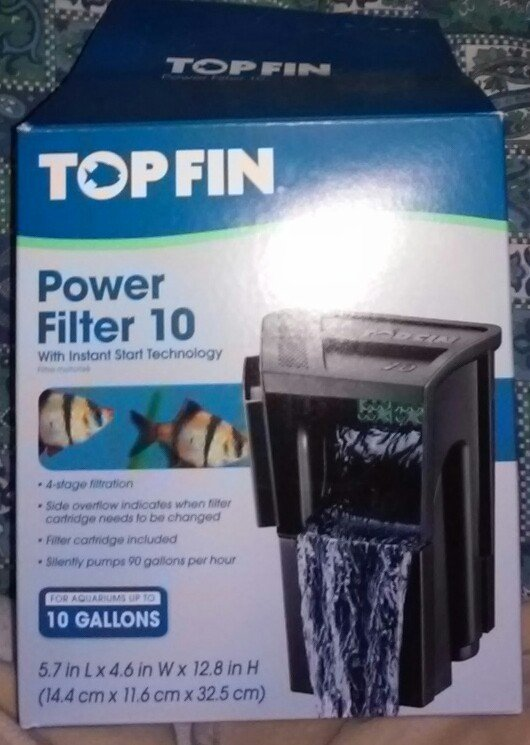where is the control knob on my top fin power filter located?   my ...