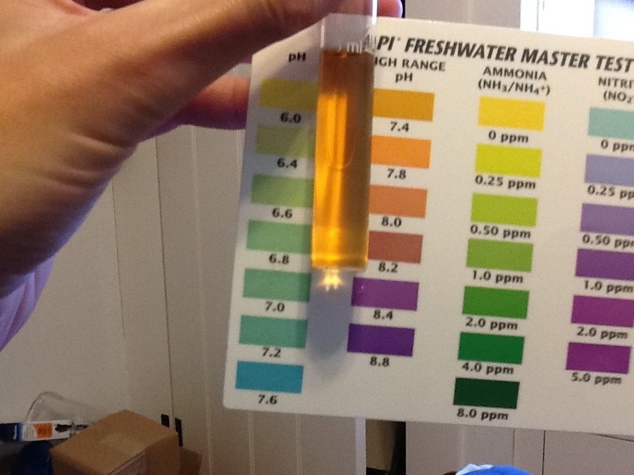 nutrafin ph test kit instructions